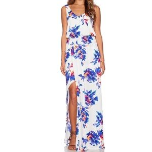 MuMu Petal Paint Floral Kendall Maxi Dress 🌸🌼